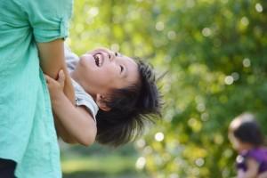 飛鳥山公園の子供。イメージ画像