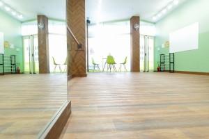 王子レンタルスタジオの床の画像