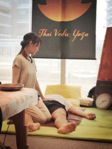 王子 ヨガスタジオ SmiLe タイヨガマッサージ ThaiVedic massage