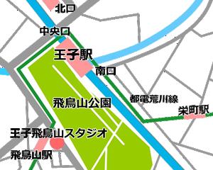 王子 貸しスタジオ アクセス 王子駅 南口から徒歩5分